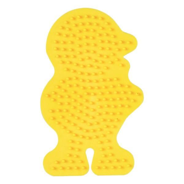 Hama Stiftplatte Küken, farbig: gelb
