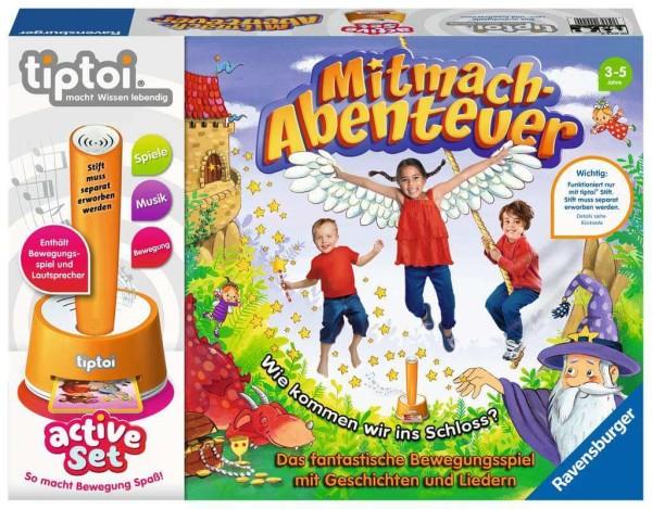 tiptoi® active Set Mitmach-Abenteuer