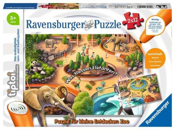 tiptoi® Puzzle für kleine Entdecker: Zoo