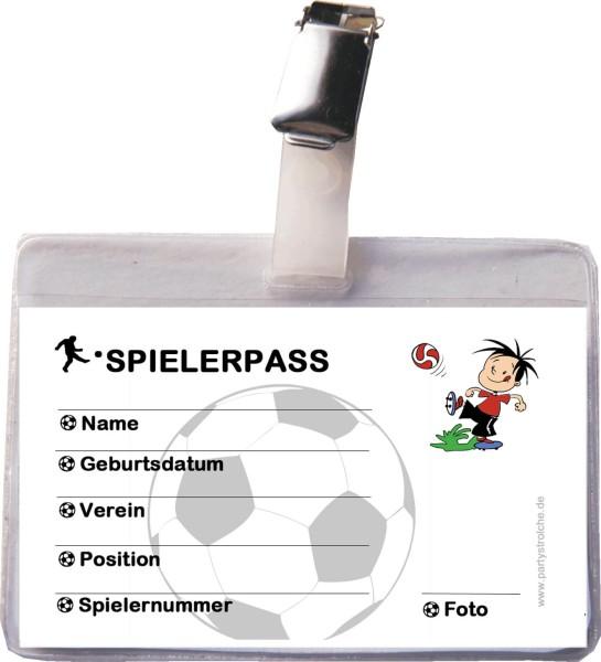 Spielerpass (Inkl. Hülle Und Clip)