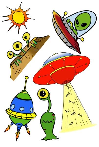 """Tattoos Alien """"Ufo"""""""