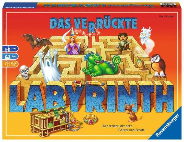 Ravensburger Das verrückte Labyrinth - Konzentrationsspiel