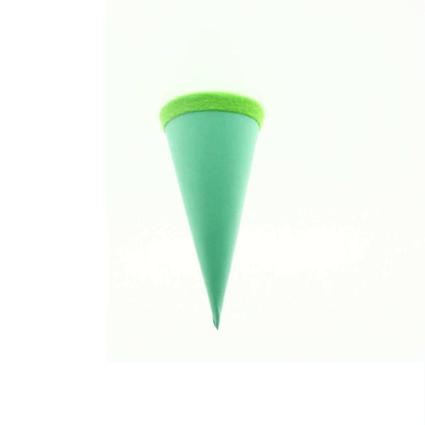Goldbuch Geschenktüte - 15cm - mint - grüner Filzverschluss
