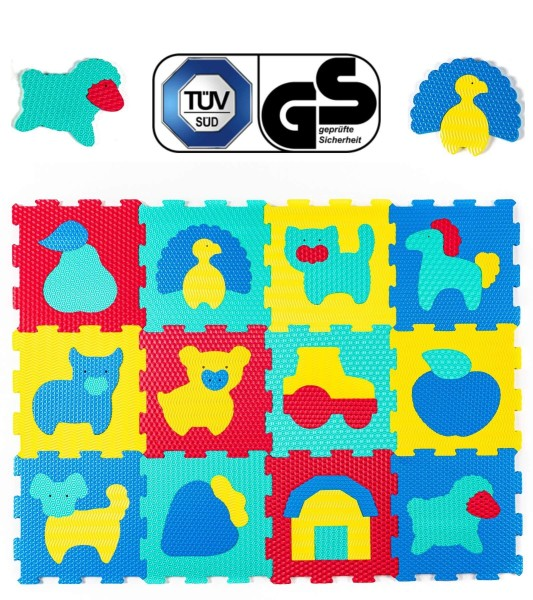 Hakuna Matte Puzzle Play Mat - Farm (1.2x-0.9m)