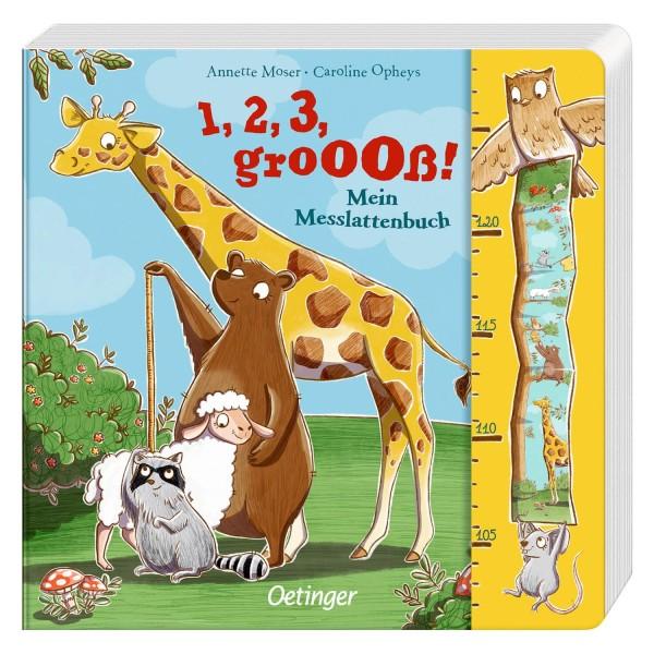 Moser, 1,2,3 groooß! Messlattenbuch