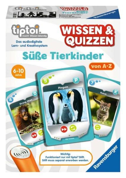 tiptoi® Wissen & Quizzen: Süße Tierkinder