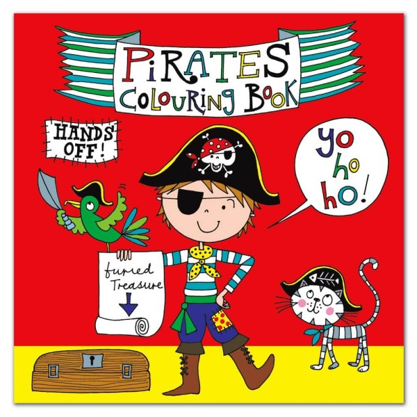 Malbuch Frecher Pirat