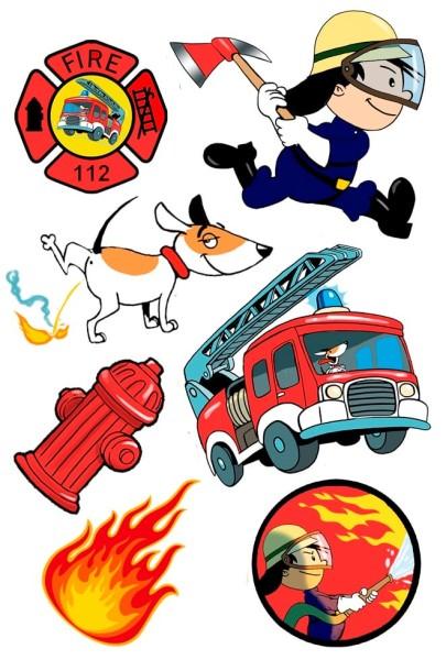 Tattoos Feuerwehrmann Flo