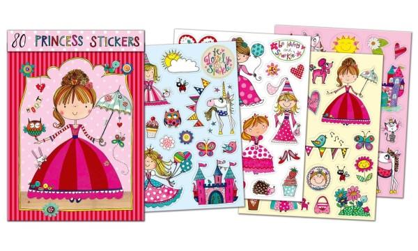 Sticker-Set Kleine Prinzessin Inkl. 80 Sticker