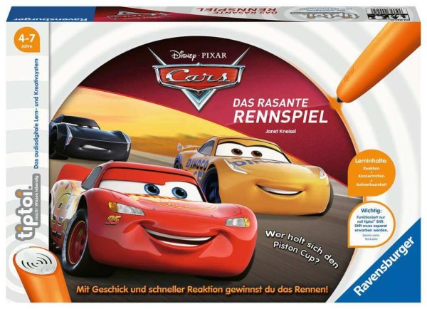 tiptoi® Cars - Das rasante Rennspiel