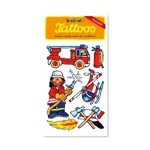 Tattoos Feuerwehr Benny Brandmeister