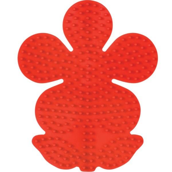 Hama Stiftplatte Blume, farbig: rot