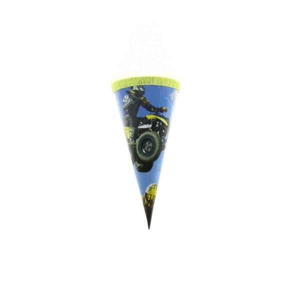 Roth Geschenktüte Quad, 15cm, rund, Kreppverschluss