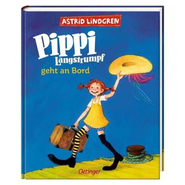 Lindgren, Pippi an Bord (farbig)