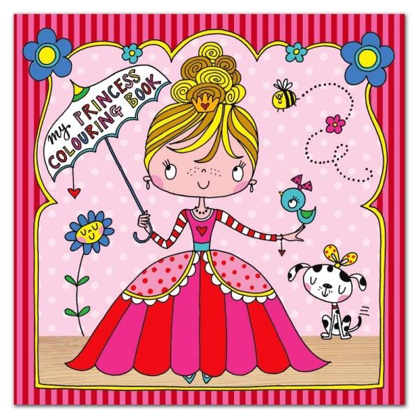 Malbuch Kleine Prinzessin