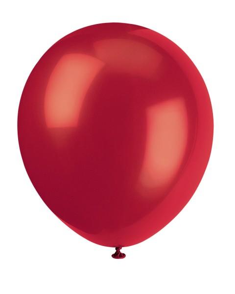 Luftballons Rot