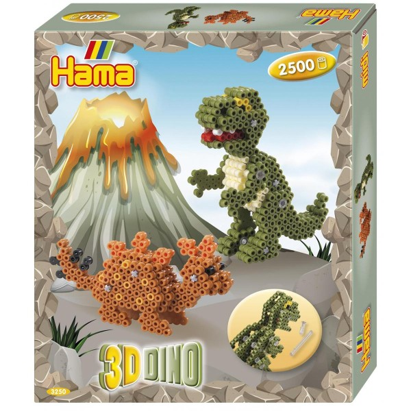 Hama Geschenkpackung 3D Dinos