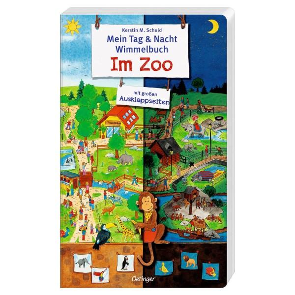 Schuld, Tag & Nacht Wimmelbuch Zoo