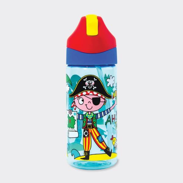 Trinkflasche Frecher Pirat (Neu)
