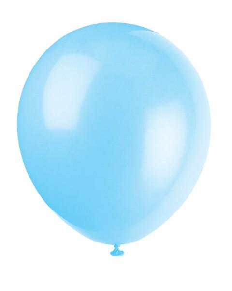 Luftballons Hellblau