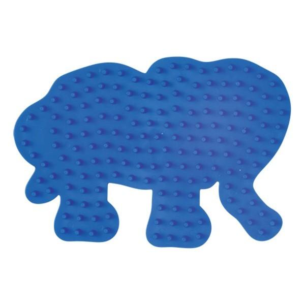 Hama Stiftplatte kleiner Elefant, blau