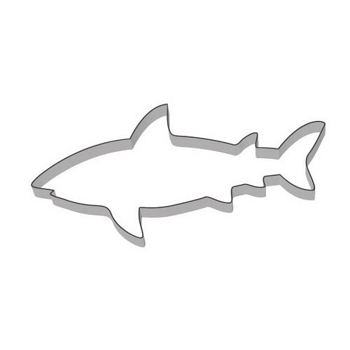 Ausstecher Haifisch