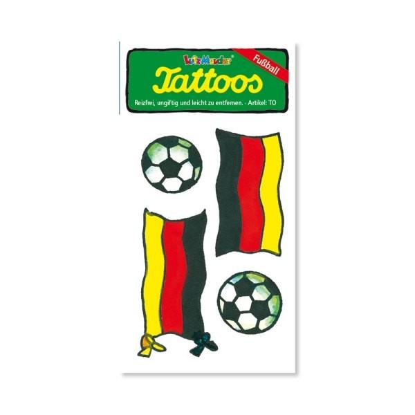 Tattoo Deutschlandfahne