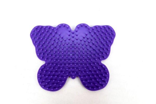 Hama Stiftplatte Schmetterling, farbig: lila