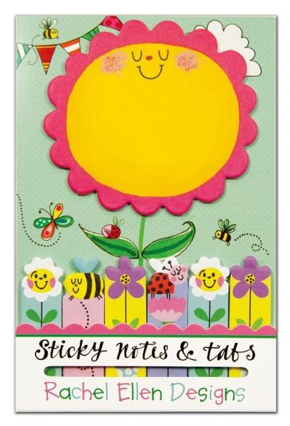 Haftsticker Und Markiersticker-Set Blume