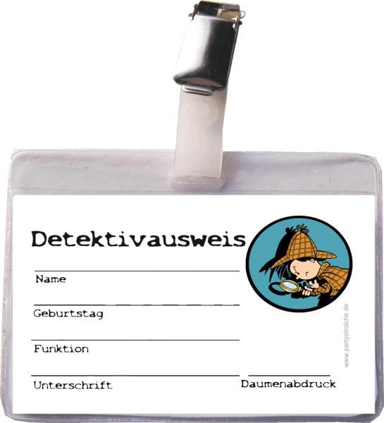 Detektivausweis (Inkl. Hülle & Clip)