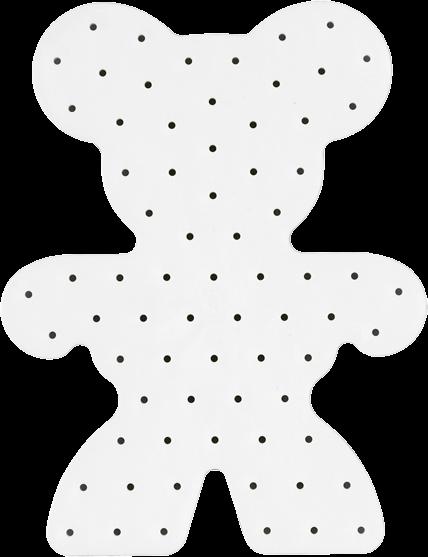 Hama Maxi Stick Lochplatte Teddybär