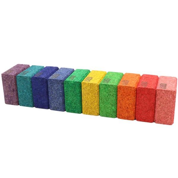 Korxx farbige Quadrate 10Stk.