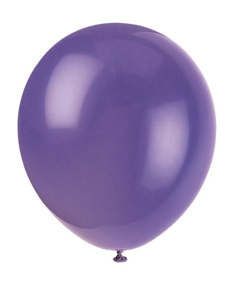 Luftballons Lila