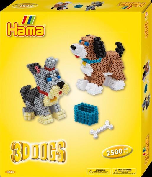 Hama Geschenkset 3-D Hunde